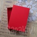 Pudełko na kartkę A6, czerwone