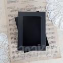 Pudełko z okienkiem A6, czarne