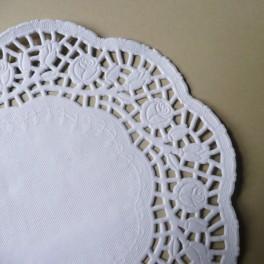 Serwetki papierowe 20 cm białe 10 szt.